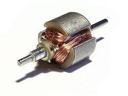 electric motor new world encyclopedia rotor from a small 3v dc motor this motor has 3 coils and the commutator can be seen at the near end