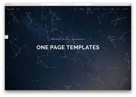 Best One Page Design 37 Best Html5 One Page Website Templates 2019 Colorlib