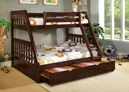 Mission Style Bedroom Furniture Furniture Of America Kolie Twin Over Full Bunk Bed Home