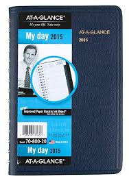 Daily Appointment Book 2015 Amazon Com At A Glance Daily Appointment Book 2015 Wirebound