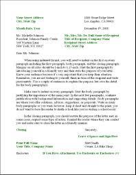 Formal Letter Format Sample | Letters – Free Sample Letters