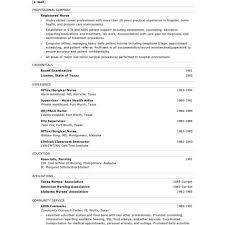 Nurses Resume Samples Post Producer Sample Resume