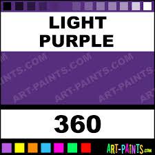Light Purple Paint Light Purple Designers Gouache Paints 360 Light Purple