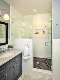 glass bathroom wall bathroom half wall how to build a half wall shower bathroom traditional with glass bathroom wall