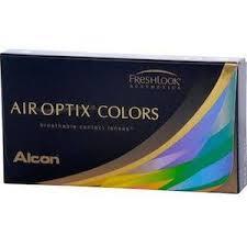 Optix Paper Colour Chart Air Optix Colors 6 Pack Groovy Contact Lens Colored