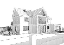 architecture houses sketch. Home Design Sketch Plans Modern Bali House Architecture Houses