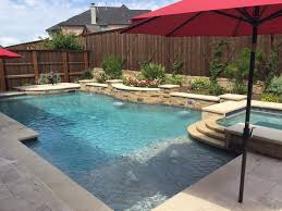 Dallas Formal Pools, Rockwall Custom Pool - formal-pool-spa-leuders-. Pool  BackyardPool LandscapingBackyard IdeasBackyard ...