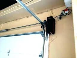 zero clearance garage door opener low clearance garage door opener steel door installation epic low headroom