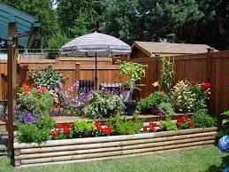 Splendid Patio Gardens Design Layout Presenting Beautiful ...
