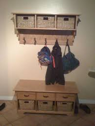 Boot Bench With Coat Rack Mudroom Entrance Way Coat Rack Coat Rack With Shoe Rack Hall Coat 84