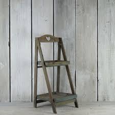 Wooden Ladder Display Stand Wooden Display Stands Rustic Rentals 14