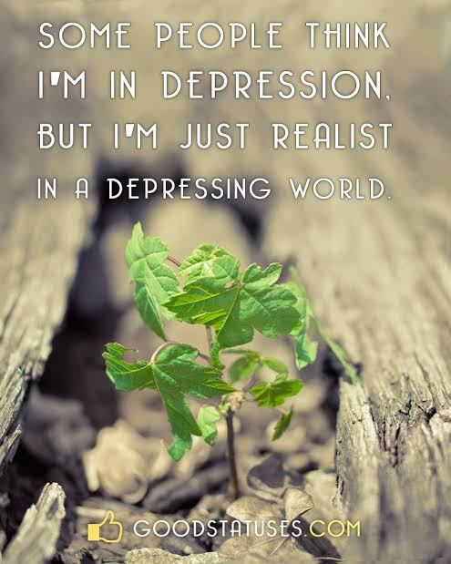 status for sad mood