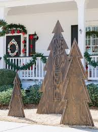 wooden christmas tree source