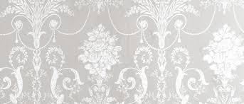 Laura Ashley Wallpaper Bedroom Josette White Dove Grey Damask Wallpaper At Laura Ashley