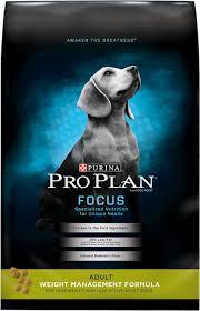 Purina Pro Plan Focus Adult Weight Management Formula Dry Dog Food 6 Lb Bag