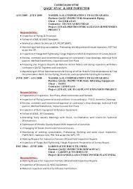 Hvac Resume Amazing Inspector Job Description Resumes R Manickam Ravi Qaqc Welding