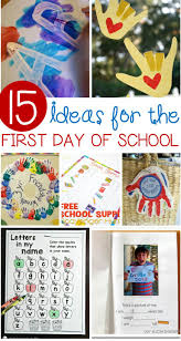 make the transition to back to easier with these fun ideas these adorable first