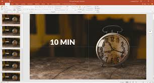 Timer 10 Minutes How To Use A Timer In Powerpoint Presentationpoint