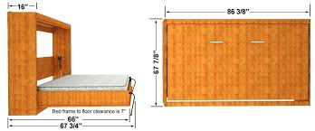 murphy bed horizontal queen size wall bed horizontal mount cabinet dimensions horizontal murphy bed plans pdf