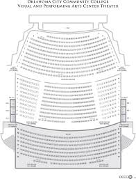 Visual Arts Performance Theater Seating Chart