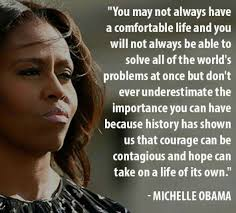 Michelle Obama Quotes Gorgeous From The Desk Of Michelle Obama 48 Motivational Quotes MadameNoire