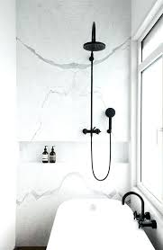 black shower faucet bathroom metal shower faucet white frame window light grey sofa wood interior with
