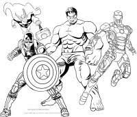 Disegni Di Hulk Da Colorare E Stampare Avengers Da Stampare E