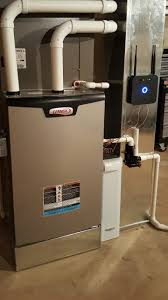 lennox 80 furnace. lennox slp98 ultra high efficiency, modulating furnace, s30 smart thermostat and aprilaire media air 80 furnace e