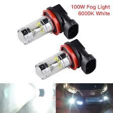 Audi A5 Fog Light Bulb Size Details About 50w H8 H11 For Audi A3 A4 A5 A6 A8 Q3 Tt Quattro Led Foglight Bulbs 6000k White