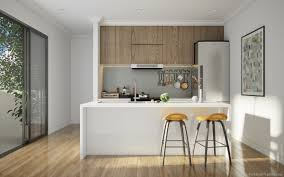 Kitchen White 25 White And Wood Kitchen Ideas