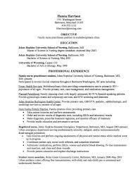 Plain Design Nurse Practitioner Resume Template Nurse Practitioner