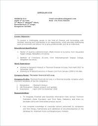 Objective In A Resume Example – Armni.co