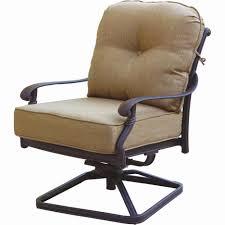 swivel rocking patio chairs luxury darlee santa monica cast aluminum patio swivel rocker club chair