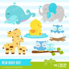 mother and baby animal clipart. Exellent Animal NEW BABY BOY Digital Clipart Baby Animals By Grafos 500 And Mother Animal I