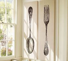 fork and spoon wall art target