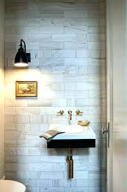 Beautiful Powder Rooms Pictures Tiny Room Sinks Tile
