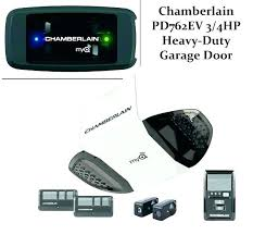 garage door opener chamberlin chain drive garage door opener chamberlain manual 3 4 hp vs be