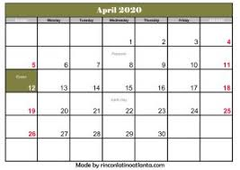 Printable Calendars 2020 With Holidays April 2020 Calendar Australia With Holiday Printable