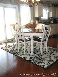 kitchen table rugs diffe area rugs for kitchen and dining room rug under round table correct