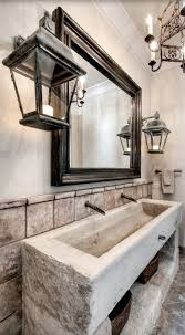 Old World, Mediterranean, Italian, Spanish & Tuscan Homes & Decor  -Pictured: Bath house