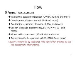 Formal Assessment Simple STRUCTURED TEACHING MODEL ASSESSMENT ARIZONA EDUCATION CADRE Ppt