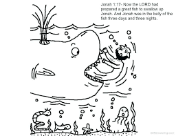 Jonah And The Whale Coloring Page Inspirational Collection Of Jonah