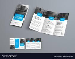 Fantastic 3 Fold Brochure Templates Template Ideas
