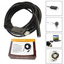 CrazyFire® 2.0MP HD 720P Coms 6 LEDs <b>USB Snake Inspection</b> ...