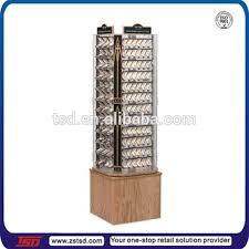 Jewelry Display Floor Stands Tsdw100 Wood Grain Rotating Jewelry Display Standpendant Floor 1