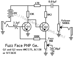 fuzz central arbiter fuzz face germanium fuzz face schematic