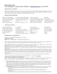 Unique Gallery Of Sample Resume Of Software Developer Business
