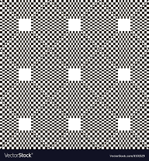 Chequered Pattern Awesome Monochrome Chequered Pattern With Squares Vector Image