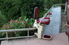 Exterior Stair Chair Lift For Curved Stairs The Kienandsweet