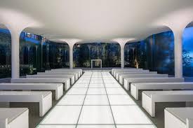 Modern Chapel Design A Modern Chapel Built In Japan For Wedding Ceremonies